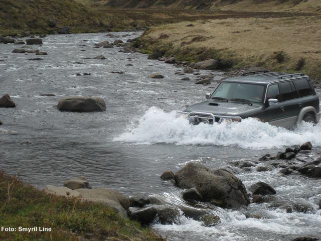 Islandfähre Auto