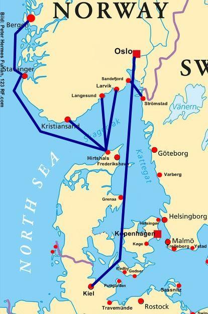Norwegen Fähren