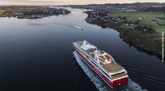 Norwegen Fähre Hirtshals - Langesund