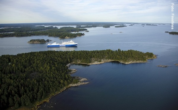 Finnland Fähren Kapellskär Åland Turku