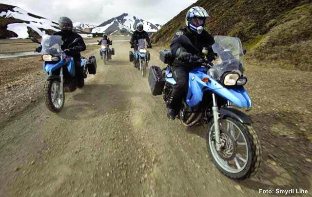 Island Motorrad Reise