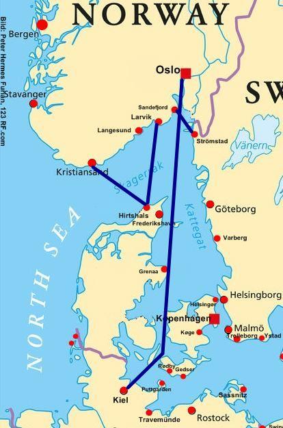 Kiel Oslo Schiff