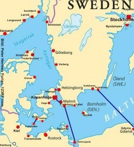 Schweden Fähren von Polen