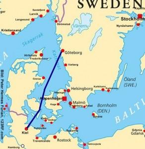 Schweden Fähre Kiel - Göteborg