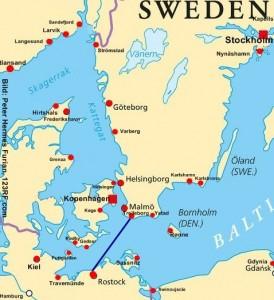 Schweden Autofähre