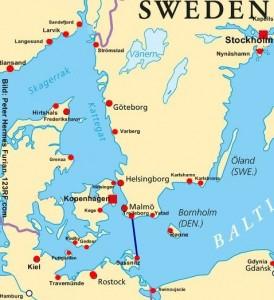 Schweden Fähre Sassnitz - Trelleborg