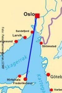 Faehre Skandinavien