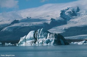 Island-Gletscher-Lagune