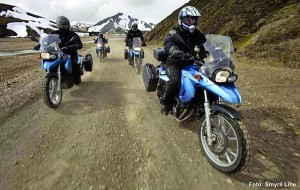 Island-Motorradtour G