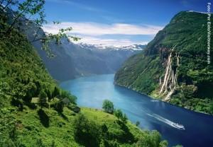 Geirangerfjord-Norwegen