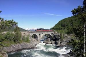 Norwegen-Bahn