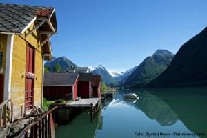 Norwegen-Fjarlandsfjord