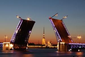 St.Petersburg Brücke