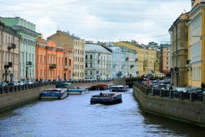 Städtereise St.Petersburg Kanal