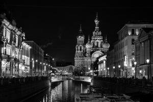 Städtereise St.Petersburg Nacht