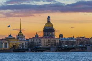 Minikreuzfahrt St.Petersburg Newa
