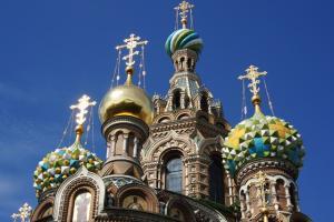 Städtereise St.Petersburg Zwiebeltürme